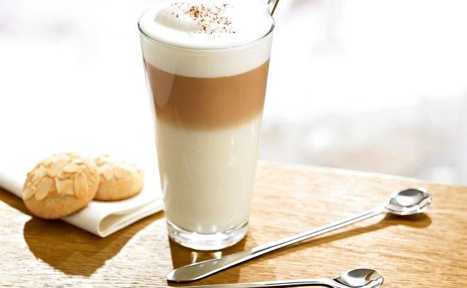 кофе латте - Виды кофе - разнообразие напитков...