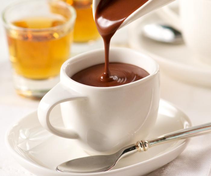 густой шоколад e1512326450582 - Горячий шоколад - уют в чашке...