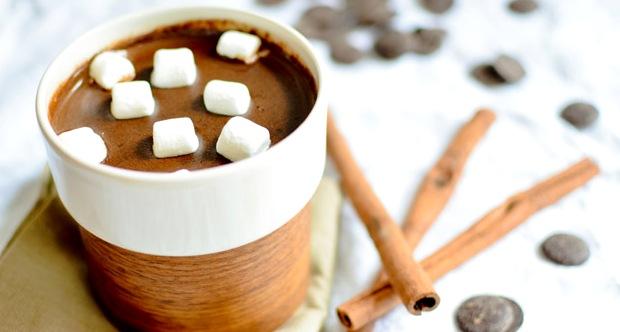 шоколад с зефиром - Горячий шоколад - уют в чашке...