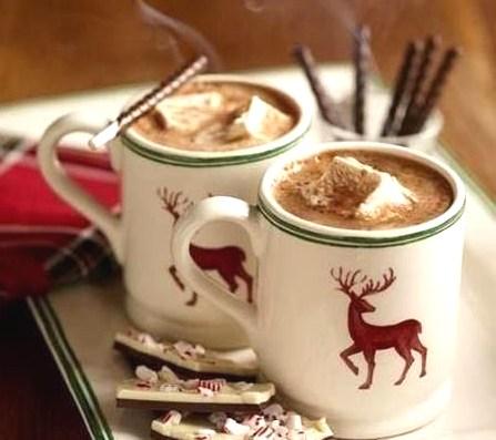 шоколад2 - Горячий шоколад - уют в чашке...