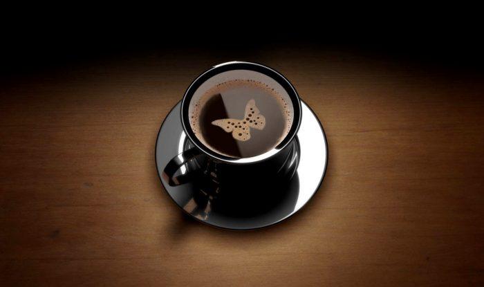 кофе с бабочкой e1512320598828 - Гадание на кофе - загляните в будущее...
