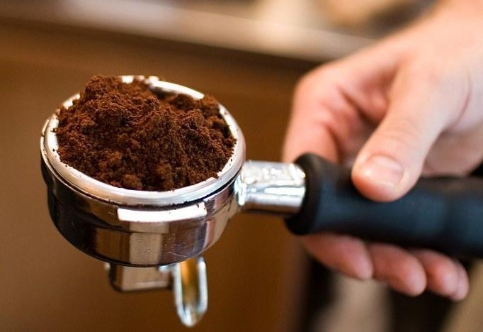 средний помол кофе