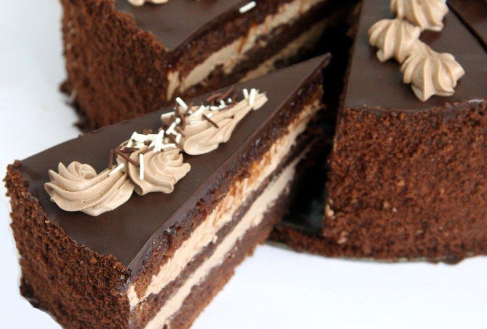 прага кусок - Шоколадный торт - король десертов!