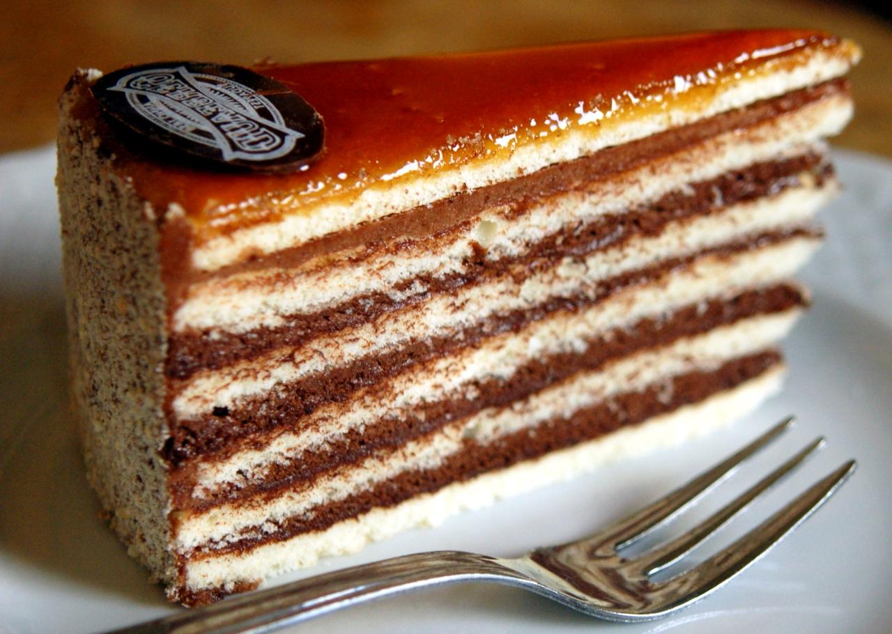 торт добош - Шоколадный торт - король десертов!