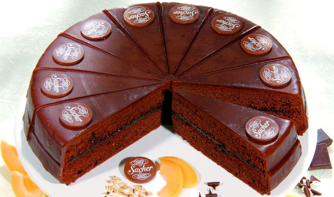 торт захер - Шоколадный торт - король десертов!
