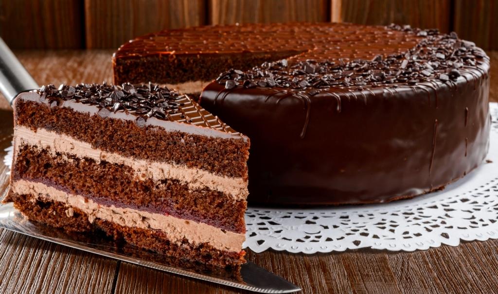 торт прага - Шоколадный торт - король десертов!