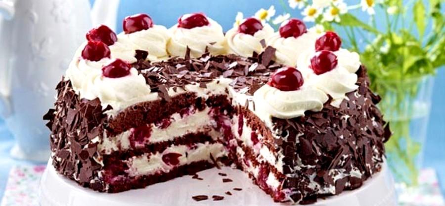 шоколадный торт шварцвальд