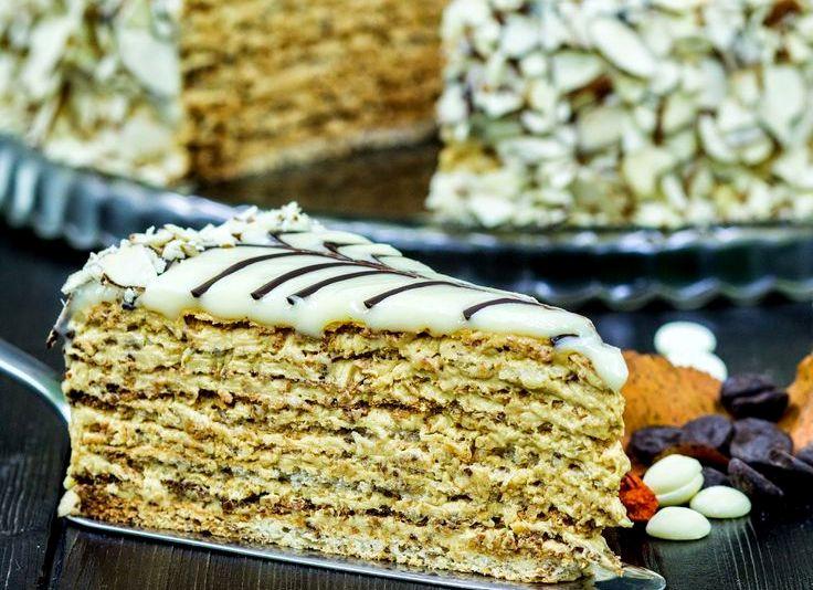 шоколадный торт эстерхази