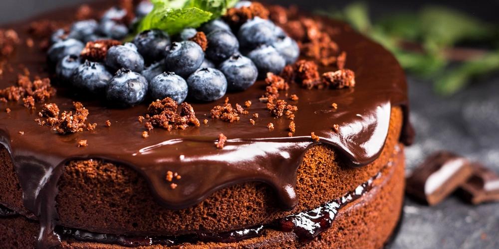 шоколадный торт 1 - Шоколадный торт - король десертов!