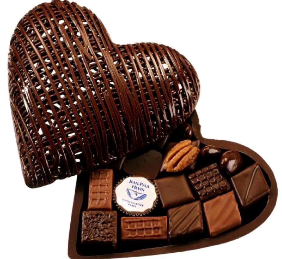 шоколад сердце - Шоколад - полезное удовольствие!