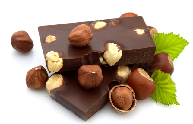 шоколад с орехами - Шоколад - полезное удовольствие!