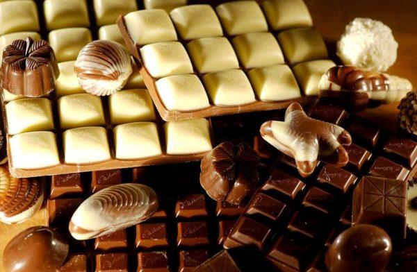 шоколад формы
