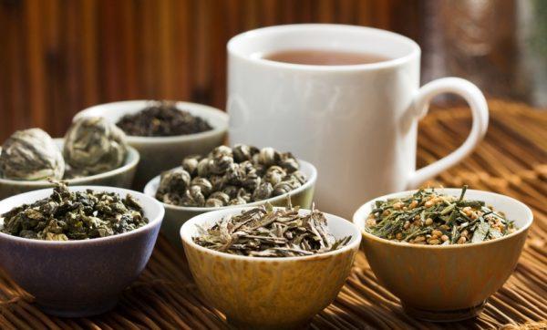 виды зеленого китайского чая