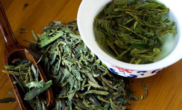 виды зеленого чая Lung Ching
