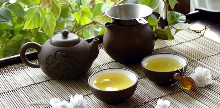 зеленый чай виды сорта
