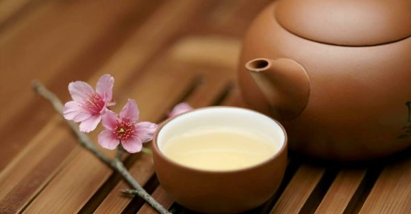 зеленый чай с жасмином e1512393341412 - Виды зеленого чая - палитра вкусов и ароматов!
