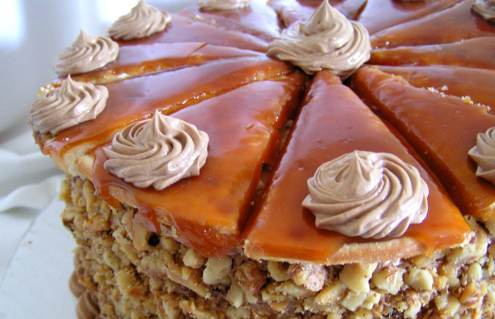 торт добош - Торт Добош - Императорский вкус! Как его приготовить?