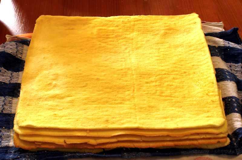 квадратные коржи торта добош - Торт Добош - Императорский вкус! Как его приготовить?