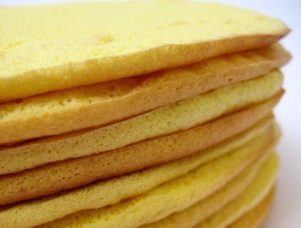 Dobos torta коржи e1512395464150 - Торт Добош - Императорский вкус! Как его приготовить?