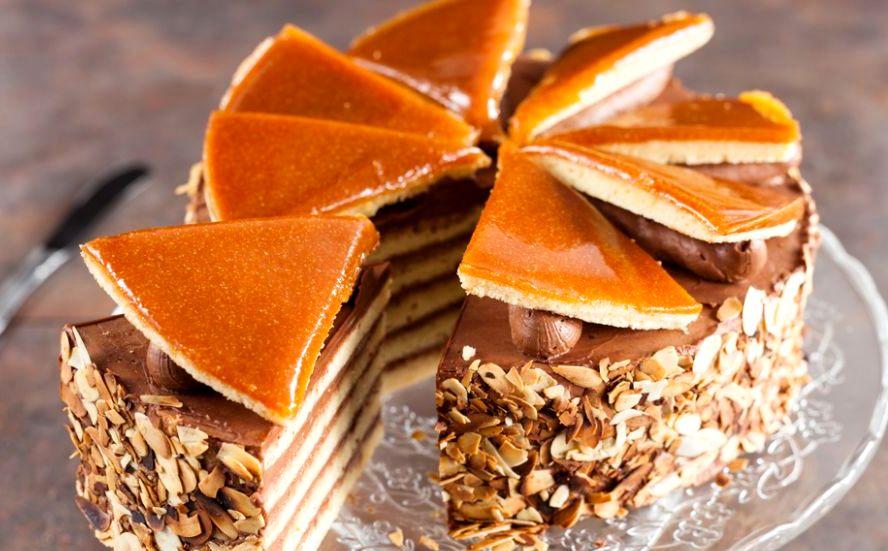 Dobos torta - Торт Добош - Императорский вкус! Как его приготовить?