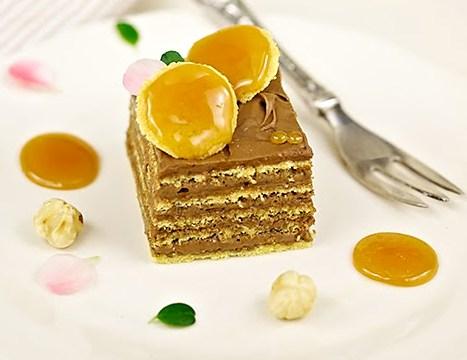 torta Dobos десерт - Торт Добош - Императорский вкус! Как его приготовить?