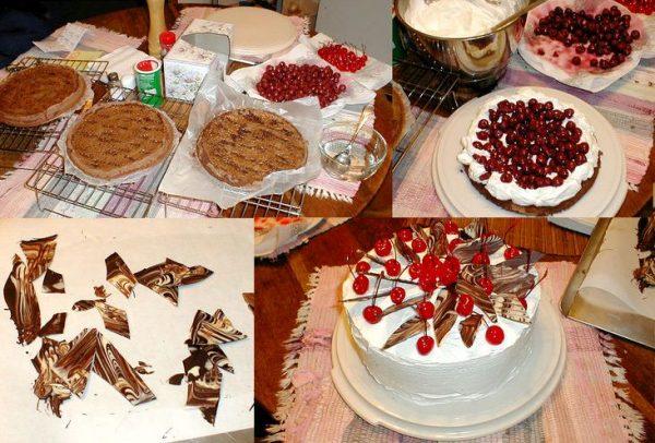 торта шварцвальд e1512395303153 - Торт Шварцвальд (Черный лес) -  классика гармоничного вкуса!