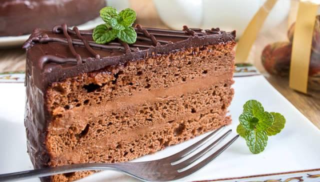 прага торт - Легендарный торт Прага - пошаговое приготовление!