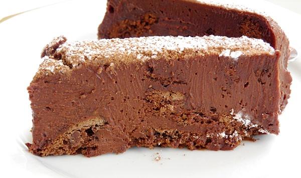 шоколадная маркиза без выпекания