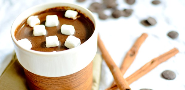 шоколад с корицей - Два рецепта горячего шоколада - с кокосовым молоком и с мятой!