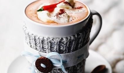 шоколад - Горячий шоколад с перцем чили для теплой зимы...