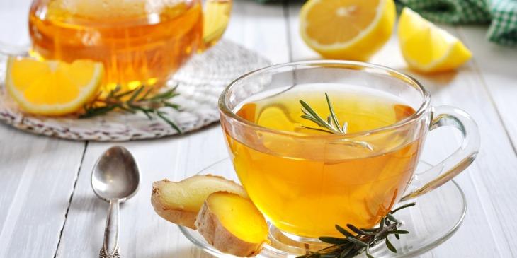 имбирный чай 2 - Имбирный чай - польза и вред, а также рецепт!