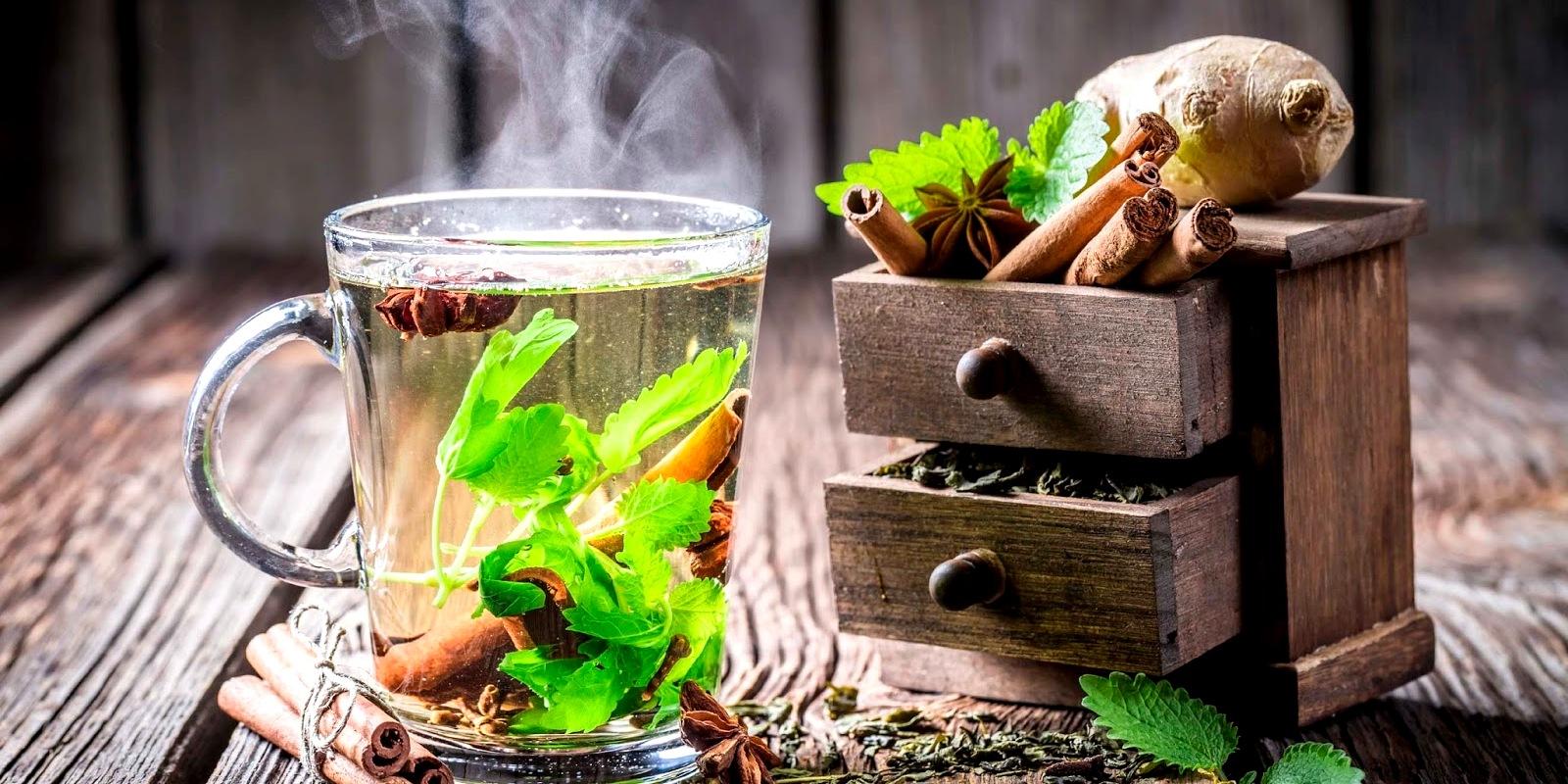 мятный чай2 - Чай с мятой - спокойствие, только спокойствие...