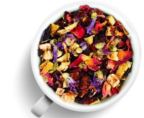 чай смесь - Черный фруктовый чай - всегда лето...