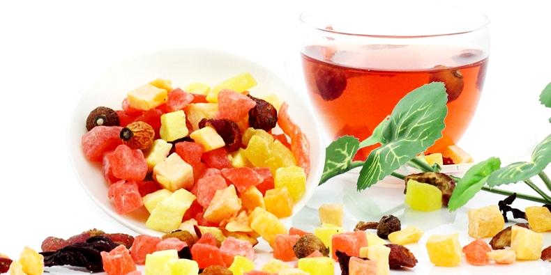 из фруктов - Черный фруктовый чай - всегда лето...