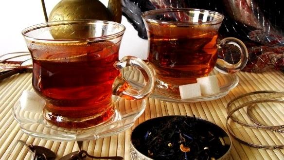 черный чай напиток