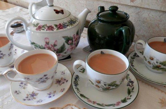 чай с молоком - Виды черного чая - глубокий согревающий вкус...