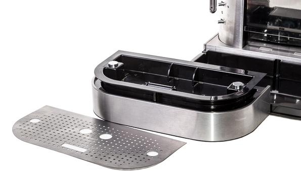 поддона для сбора капель кофемашины - Инструкция по очистке кофемашин от кофейных масел