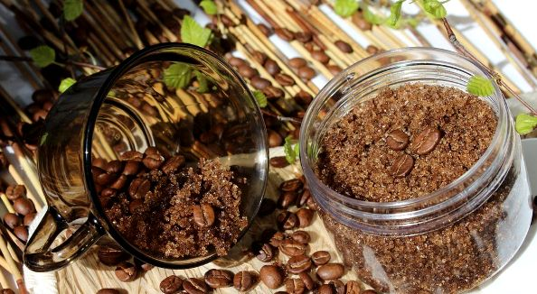 рецепт домашнего кофейного скраба для тела
