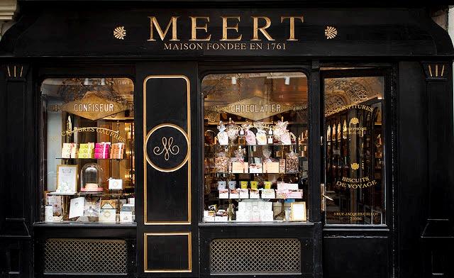 шоколадный магазин Париж