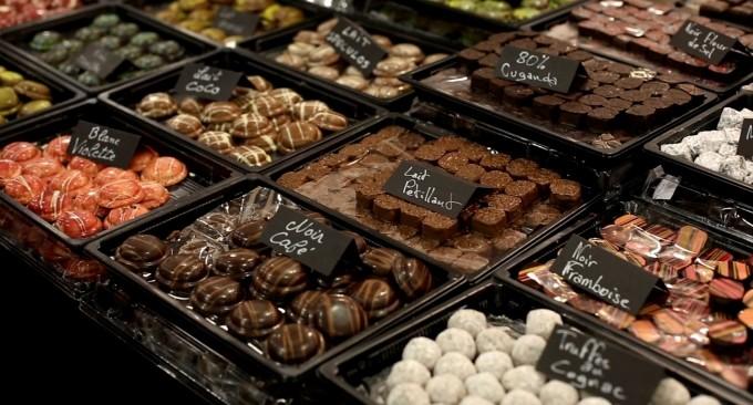шоколадные конфеты Париж
