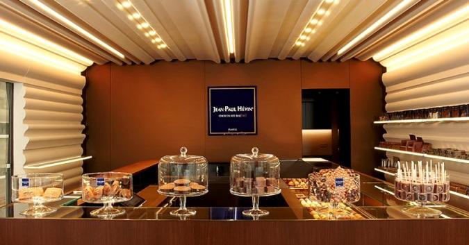 Jean Paul Hévin магазин шоколада - Одни из самых лучших шоколадных магазинов в мире!