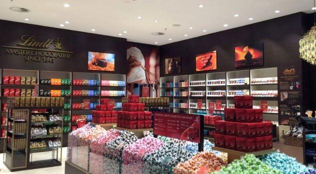 Lindt Springli магазин - Одни из самых лучших шоколадных магазинов в мире!