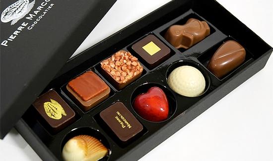 Pierre Marcolini шоколад - Одни из самых лучших шоколадных магазинов в мире!