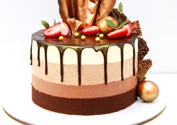 три шоколада рецепт с фото пошагово - Торт три шоколада - пошаговый рецепт!