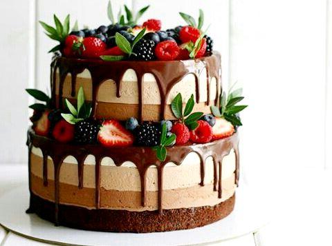 шоколада - Торт три шоколада - пошаговый рецепт!