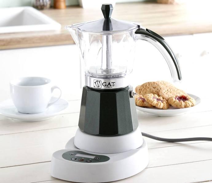 электрическая кофеварка Мока - Гейзерные кофеварки
