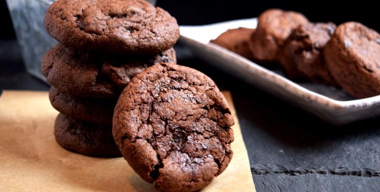 кофейное печенье с кардамоном1 - Шоколадно-кофейное печенье с кардамоном - очень легкий рецепт!