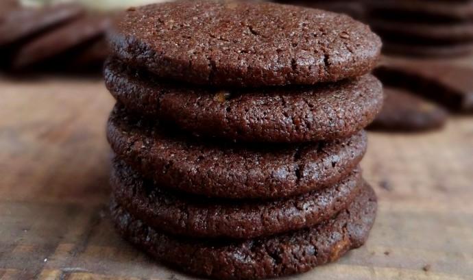 кофейное печенье - Шоколадно-кофейное печенье с кардамоном - очень легкий рецепт!