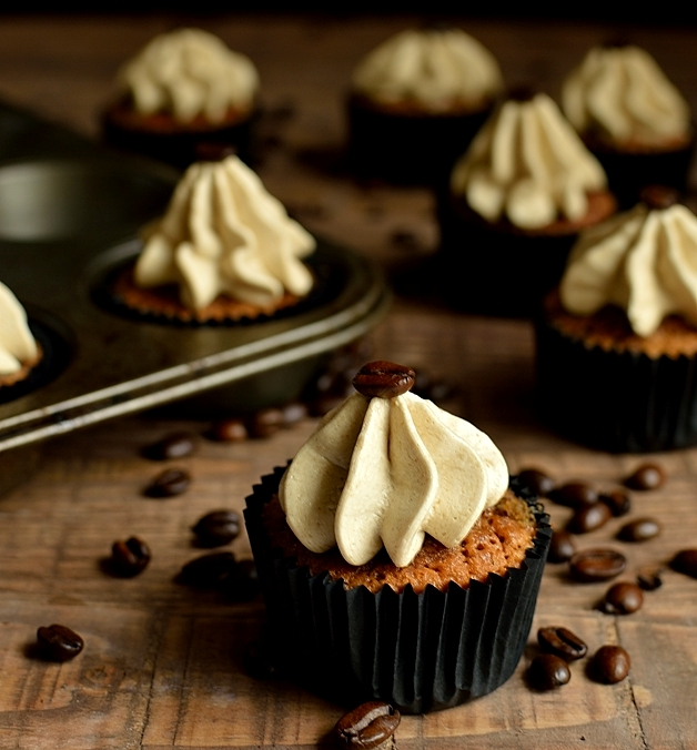капкейки - Кофейные капкейки - вкусный и ароматный рецепт!