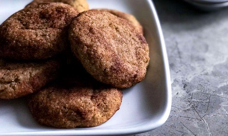 печенье - Шоколадно-кофейное печенье с кардамоном - очень легкий рецепт!